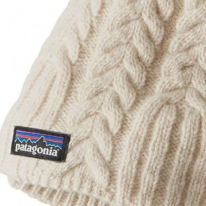 Patagonia Women's Cable Beanie - Toasted White