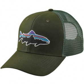 Patagonia Fitz Roy Trout Trucker Hat - Glades Green