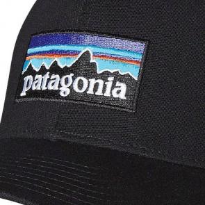 Patagonia P-6 LoPro Trucker Hat - Black