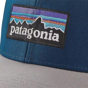 Patagonia P-6 Logo Roger That Hat - Big Sur Blue