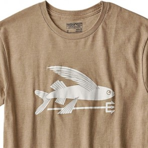 Patagonia Flying Fish T-Shirt - Mojave Khaki
