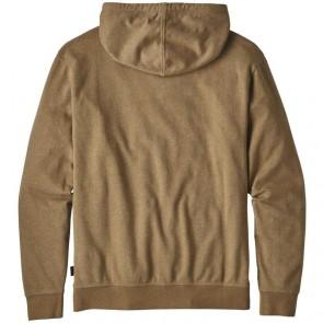 Patagonia Logo Badge Lightweight Hoodie - Coriander Brown