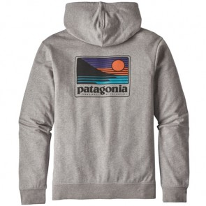 Patagonia Up and Out Lightweight Zip Hoodie - Feather Grey