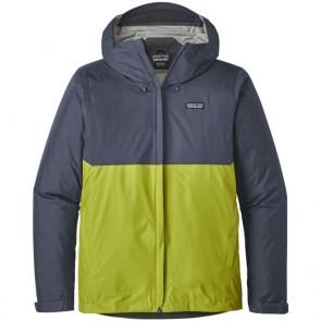 Patagonia Torrentshell Jacket - Dolomite Blue/Light Gecko Green