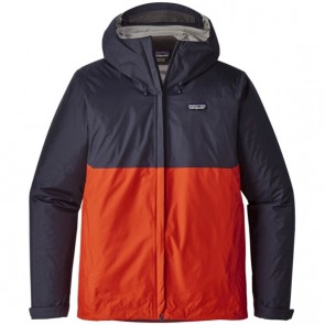 Patagonia Torrentshell Jacket - Navy Blue/Paintbrush Red