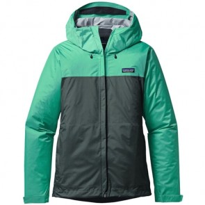 Patagonia Women's Torrentshell Jacket - Galah Green/Nouveau Green