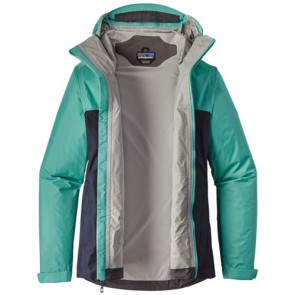 Patagonia Women's Torrentshell Jacket - Navy Blue/Strait Blue