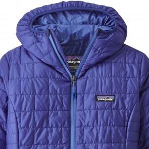 Patagonia Women's Nano Puff Hoody Jacket - Cobalt Blue