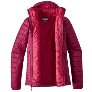 Patagonia Women's Nano Puff Hoody Jacket - Magenta