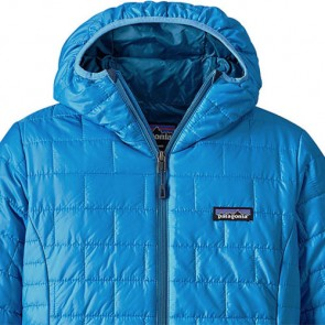 Patagonia Women's Nano Puff Hoody Jacket - Radar Blue