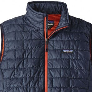 Patagonia Nano Puff Vest - Navy Blue/Paintbrush Red