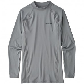 Patagonia Wetsuits R0 Long Sleeve Rash Guard - Feather Grey