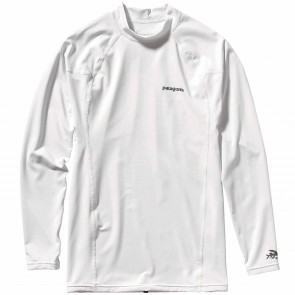 Patagonia Wetsuits R0 Long Sleeve Rash Guard - White
