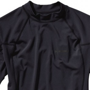 Patagonia Wetsuits R0 Short Sleeve Rash Guard - Black/Forge Grey