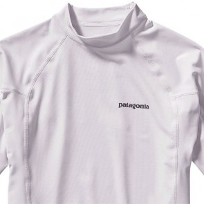 Patagonia Wetsuits R0 Short Sleeve Rash Guard - White/Feather Grey