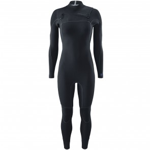 Patagonia Women's R1 Yulex 2.5mm Chest Zip Wetsuit - Black