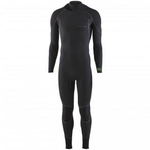 Patagonia R2 Yulex 3.5/3 Back Zip Wetsuit - Black