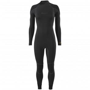 Patagonia Women's R3 Yulex 4.5/3.5 Back Zip Wetsuit - Black