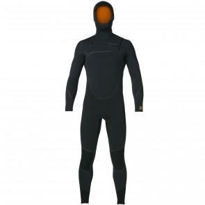 Patagonia R3 Yulex 4.5/3.5 Hooded Wetsuit - Black