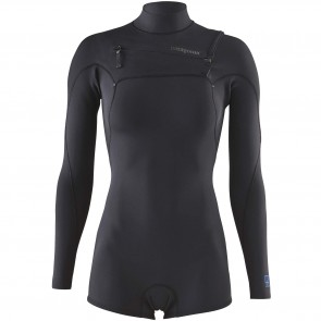 Patagonia Women's R1 Lite Yulex 2mm Long Sleeve Chest Zip Spring Wetsuit - 2018