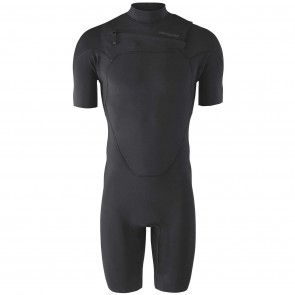 Patagonia R1 Lite Yulex 2mm Chest Zip Spring Wetsuit - Black