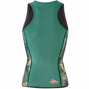 Patagonia Wetsuits Women's R1 Lite Yulex Vest - Cloudbreak/Hemlock Green