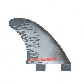 FCS Fins GXQ Quad Rears Fin Set - Red Smoke