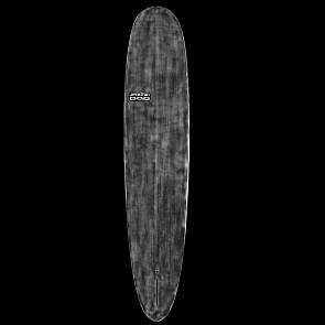 Skindog Peacemaker Thunderbolt Surfboard - Black Xeon/Clear