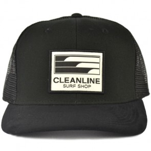 Cleanline Lines Trucker Hat - Black