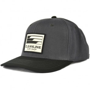 Cleanline Lines Hat - Charcoal/Black