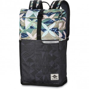 Dakine Plate Lunch Section Roll Top Wet/Dry Backpack - Island Bloom - Exterior