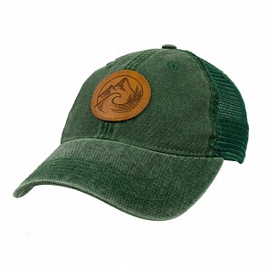 Cleanline PNW Mesh Hat - Dark Green