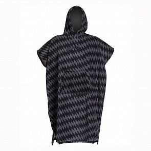 Billabong Hooded Poncho - Grey Diamonds