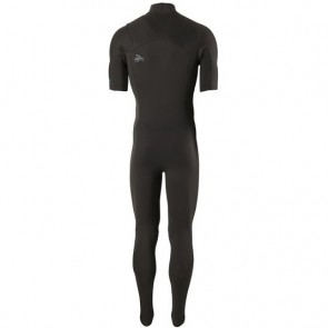 04a7757bfc ... Black Patagonia R1 Lite Yulex 2mm Short Sleeve Chest Zip Wetsuit