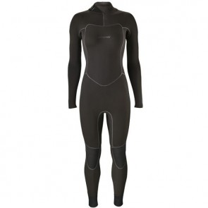 Patagonia Women's R1 Yulex 3/2.5 Back Zip Wetsuit - Black