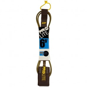Pro-Lite Freesurf Leash - 6.5ft - Smoke Clear/Black