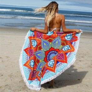 Pure Vida Beach Mandala Towel - Multi