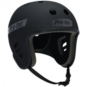 Pro-Tec Full Cut Skate Helmet - Rubber Black