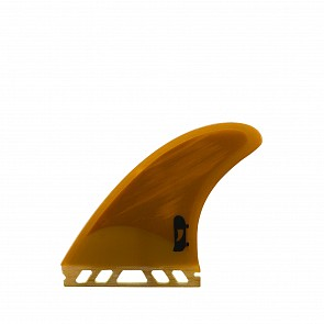 Push Fins DD Quad Fin Set Medium - Golden