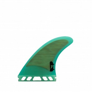 Push Fins DD Tri Fin Set Medium - Teal