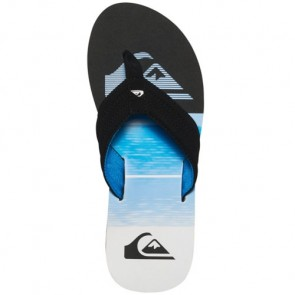 Quiksilver Youth Basis Sandals - Black/Blue/White