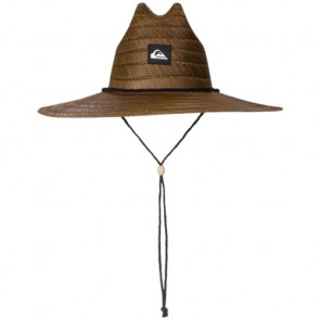 Quiksilver Pierside Lifeguard Straw Hat - Dark Brown