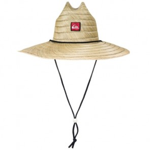 Quiksilver Pierside Lifeguard Straw Hat - Natural