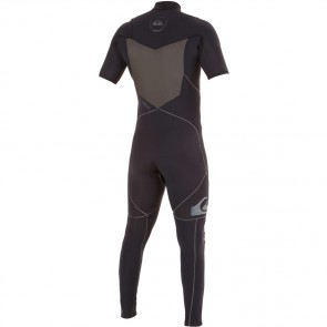 Quiksilver AG47 Performance 2mm Short Sleeve Full Chest Zip Wetsuit - 2015