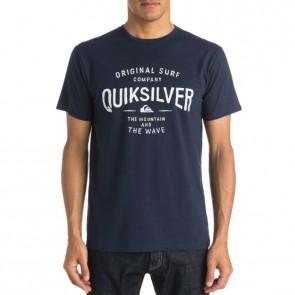 Quiksilver Claim It T-Shirt - Navy Blazer