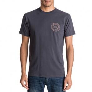 Quiksilver Scratch Zang T-Shirt - Tarmac