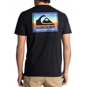 Quiksilver Box Spray T-Shirt - Black