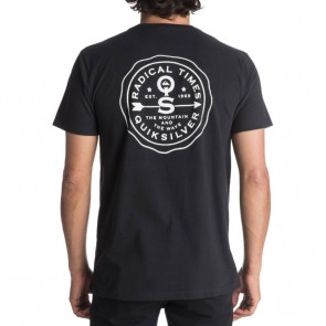 Quiksilver Alumni Card T-Shirt - Black