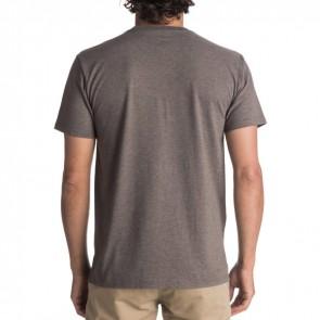 Quiksilver Thin Mark T-Shirt - Chocolate Brown Heat