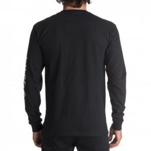 Quiksilver Kool Shapes Long Sleeve Top - Black